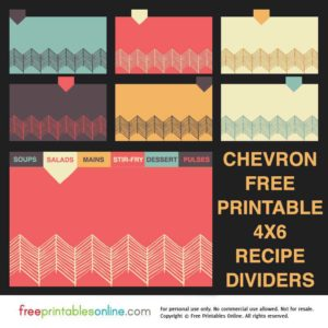 Recipe Card Templates | Free Printables Online