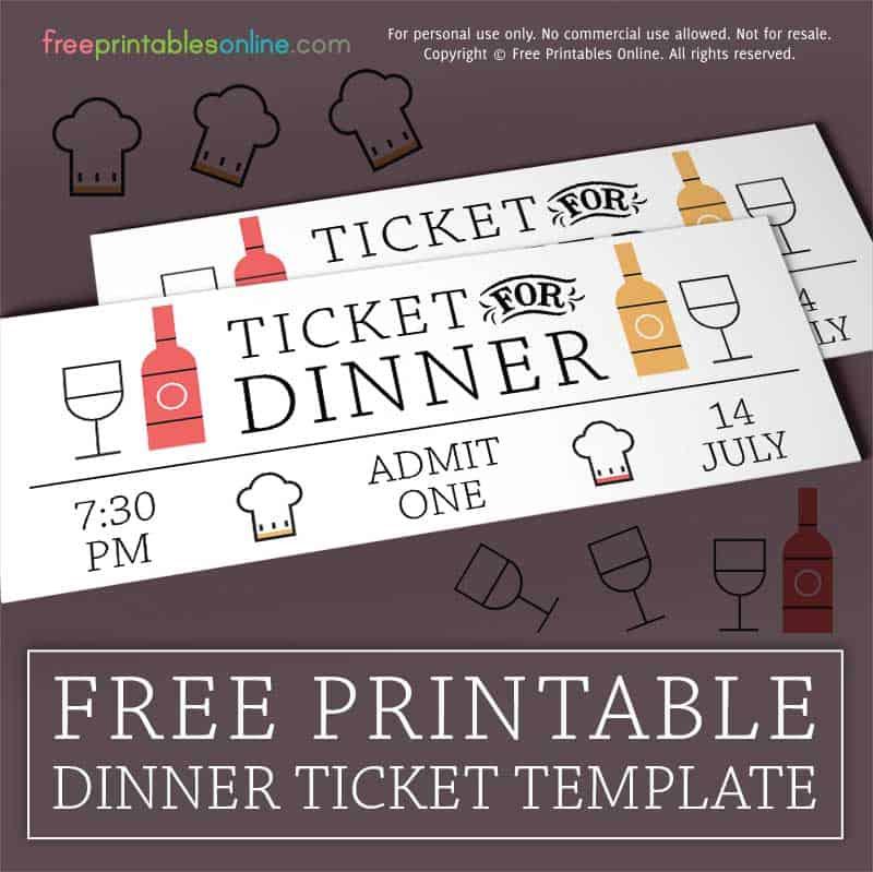 wined up dinner ticket template free printables online bloglovin. Black Bedroom Furniture Sets. Home Design Ideas