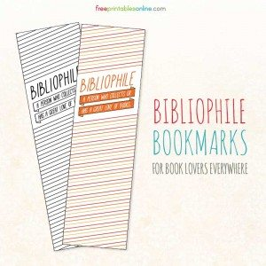 Bibliophile Bookmarks