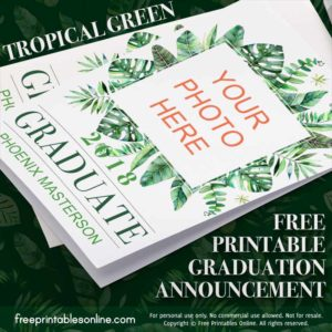 Custom Photo Graduation Announcements
