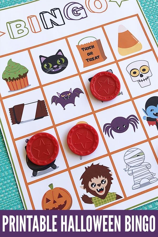 Halloween Printable Bingo Game