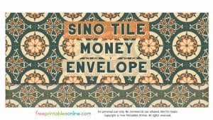 Sino Tile USD Money Envelope