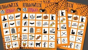Printable Halloween Bingo